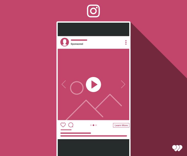 Utilisation de la publicité vidéo dans le carrousel Instagram