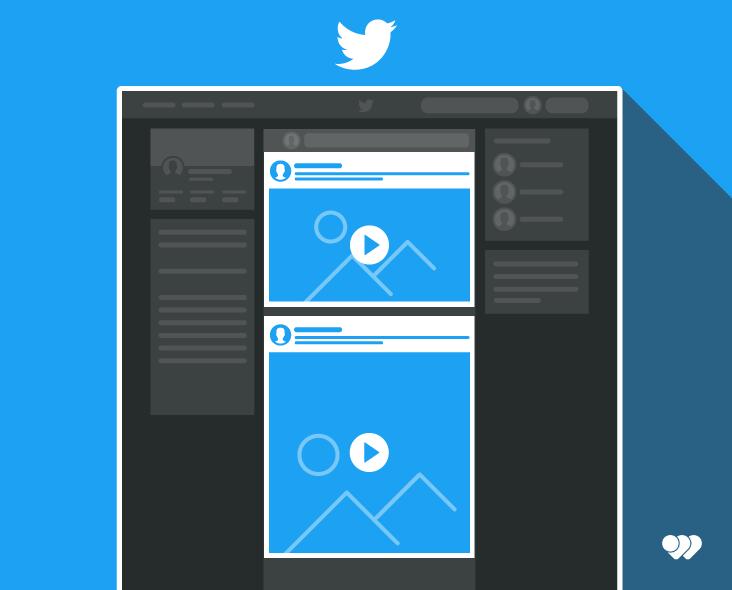 Utilisation de Twitter pour une publicité au format vidéo portrait ou paysage